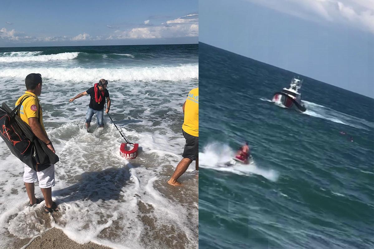 Riva'da boğulma tehlikesi geçiren genç, uzun uğraşlar sonucu kurtarıldı