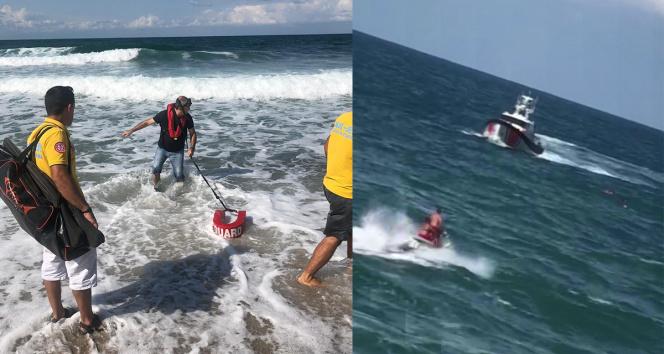 Rivada boğulma tehlikesi geçiren genç, uzun uğraşlar sonucu kurtarıldı