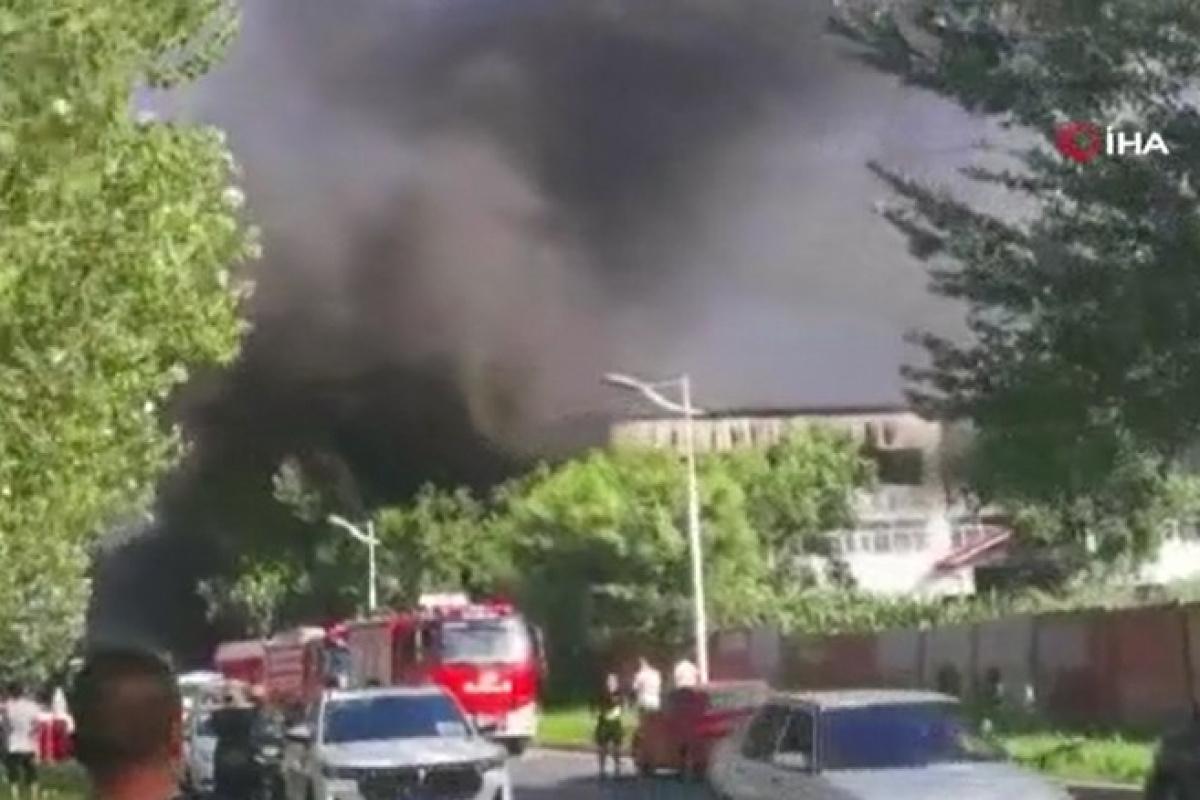 Çin'de depoda yangın: En az 14 ölü