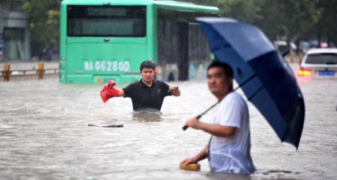 Çindeki sel felaketinde can kaybı 63e yükseldi