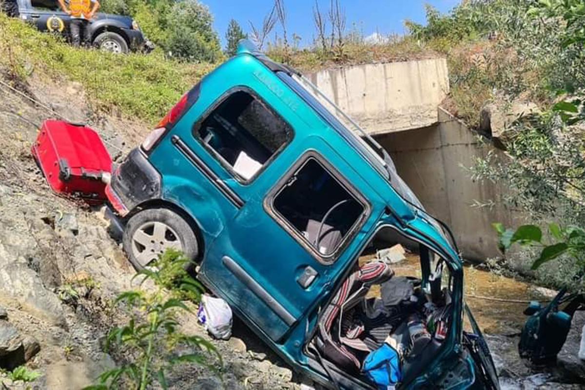 Zonguldak'ta trafik kazası: 4'ü çocuk 8 yaralı