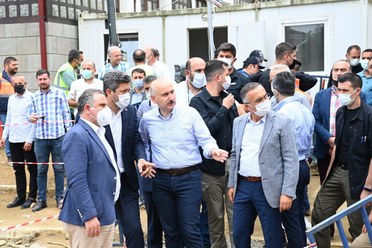 Bakan Adil Karaismailoğlu: 'Yoğun yağışa karşı tedbirlerimizi almış durumdayız'
