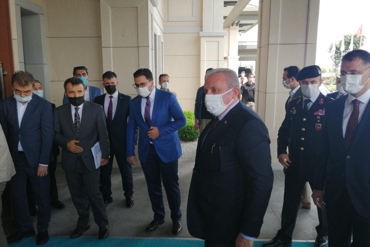 TBMM Başkanı Şentop, Azerbaycan'a gitti