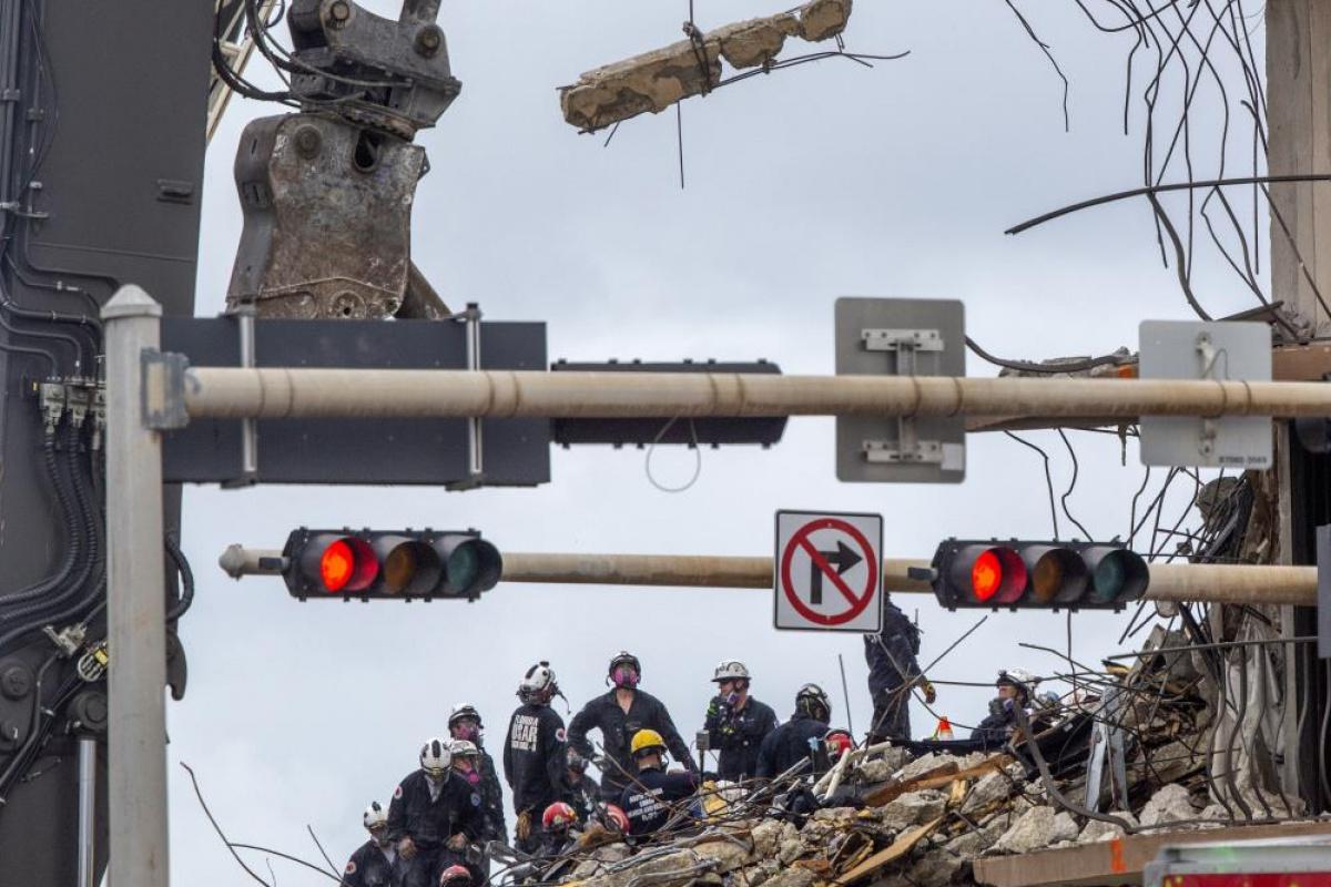 ABD'de çöken binanın enkazından son kurban çıkarıldı