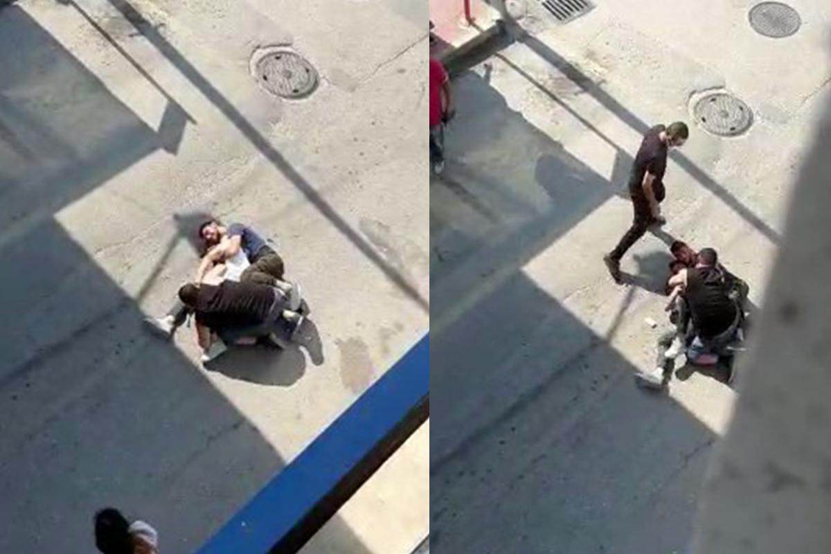 Bursa'da silahlı kavga kameralara yansıdı