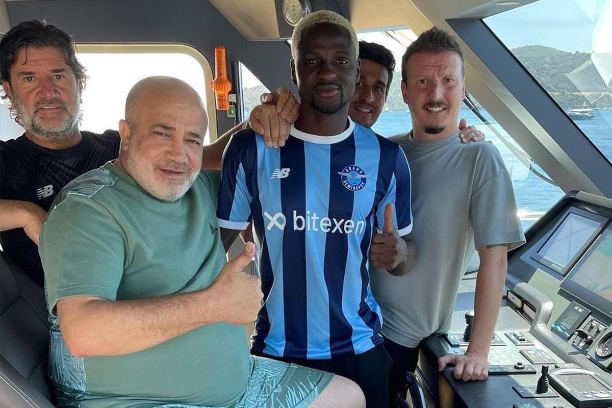 David Akintola Adana Demirspor'da