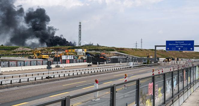 Almanyada kimya tesisinde patlama: 5 kişi kayıp