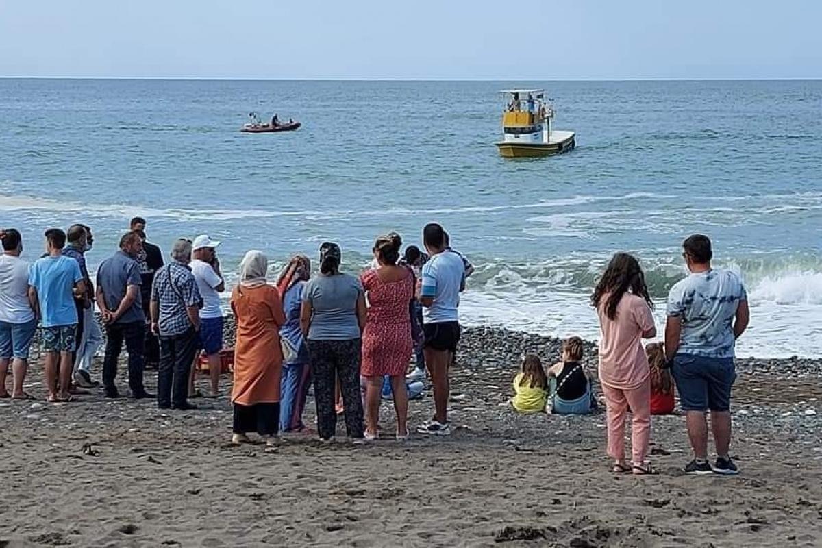 Denizde kaybolan gencin cesedine ulaşıldı!