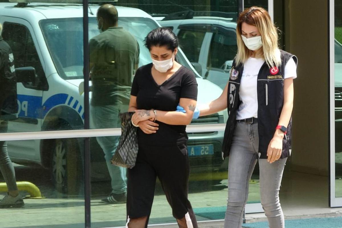 Evinde uyuşturucu ele geçirilen kadın tutuklandı