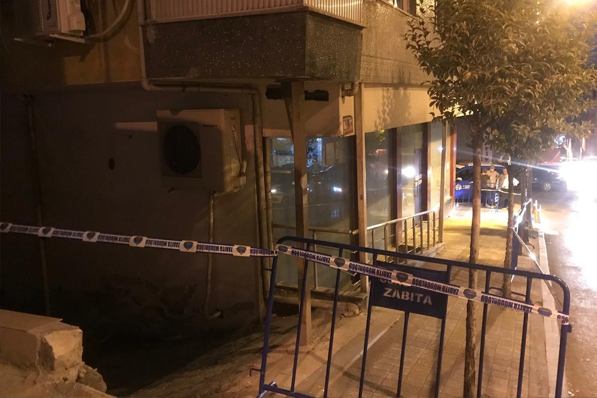 Güngören'de balkonunda çatlaklar olan bina tedbir amacıyla boşaltıldı