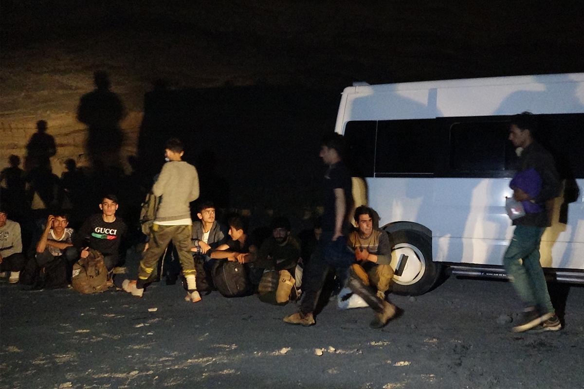 Van'da 86 düzensiz göçmen yakalandı