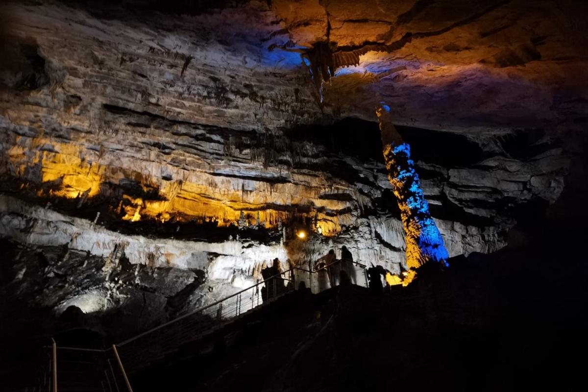 Türkiye'nin en uzun 10.mağarası ziyaretçi akınına uğruyor