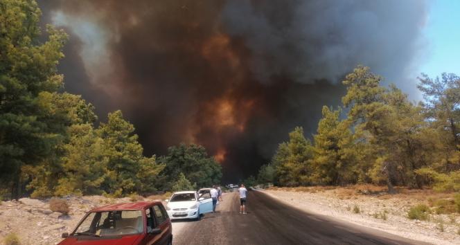 Manavgattaki orman yangını çok yönlü araştırılıyor