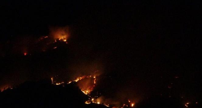 Kozandaki orman yangıyla ilgili kriz masası oluşturuldu