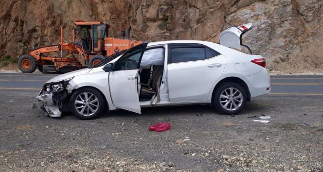 Zigana Dağında trafik kazası: 9 yaralı