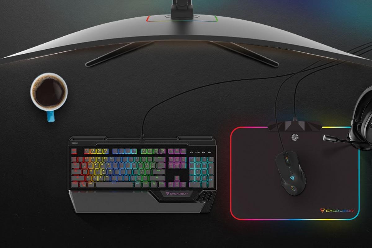 Oyunda deneyimi artıracak yeni Excalibur Gaming aksesuarlar tanıtıldı