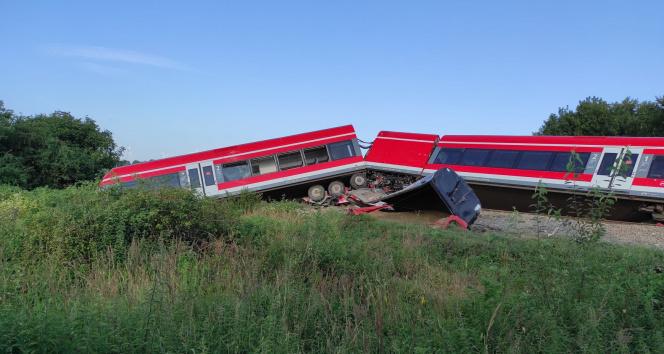Polonyada tren kazası: 8 yaralı