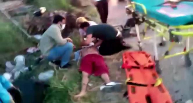 İstanbul-İzmir Otoban çıkışında feci kaza: 3 yaralı