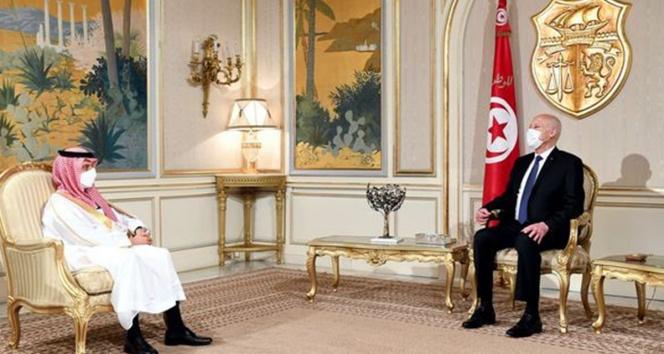 Suudi Arabistan, Tunusta güvenlik ve istikrarın sağlanmasına yönelik desteğini teyit etti