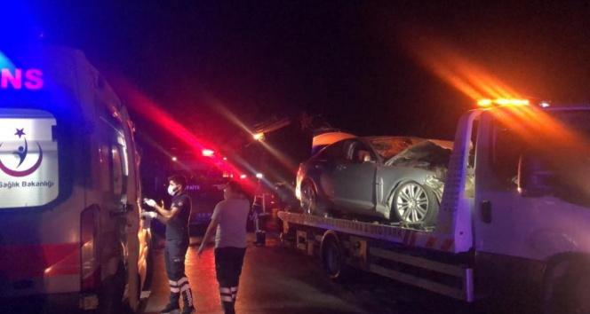 Bursada zincirleme kaza : 1 ölü, 2si ağır 5 yaralı