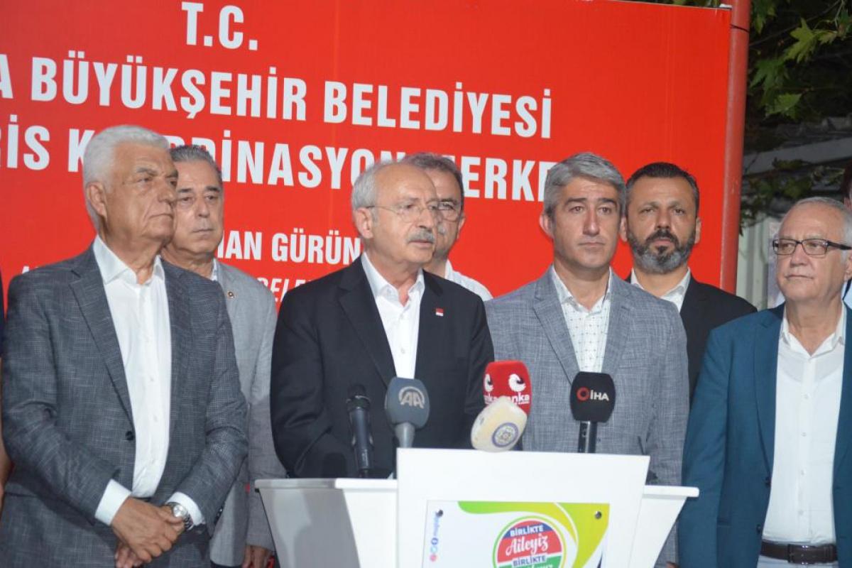 Kılıçdaroğlu: 'Son yılların en büyük orman yangınları ile karşı karşıyayız'