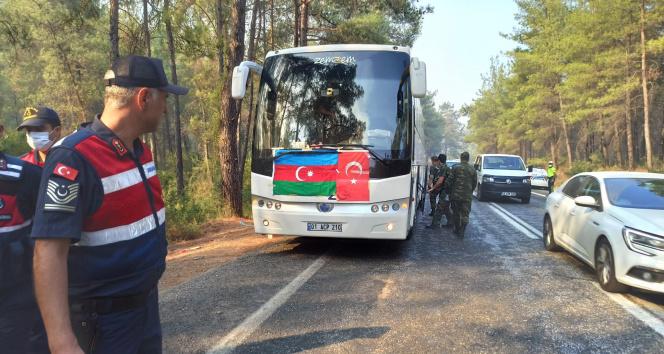 Kardeş ülke Azerbaycandan Marmarise destek ekibi
