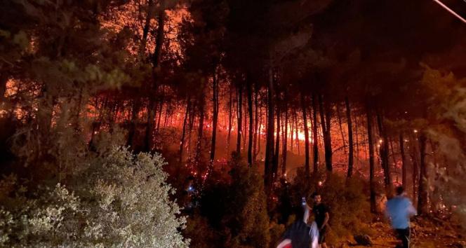 Fethiyedeki yangın kontrol altına alındı