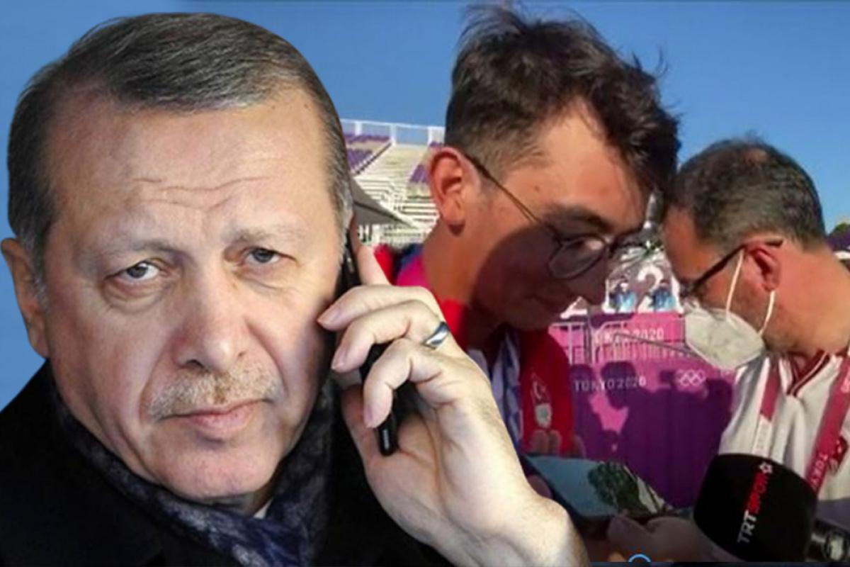 Cumhurbaşkanı Recep Tayyip Erdoğan'dan Mete Gazoz'a tebrik telefonu