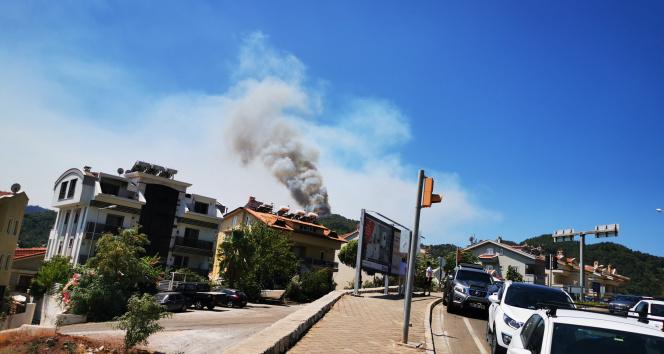 Marmaris Datça yolu kapandı