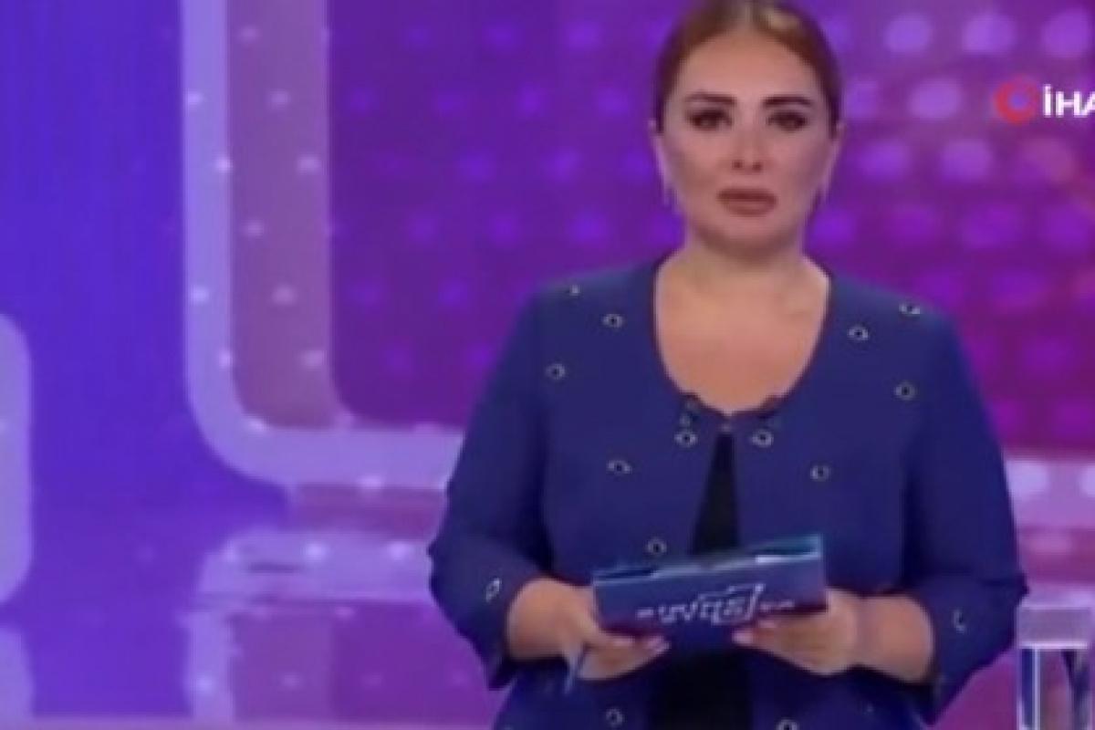 Yangınla mücadele eden Türkiye'ye Azerbaycanlı spikerden anlamlı destek
