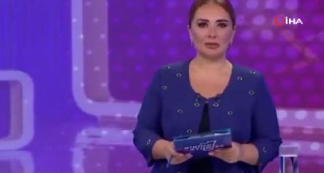 Yangınla mücadele eden Türkiyeye Azerbaycanlı spikerden anlamlı destek