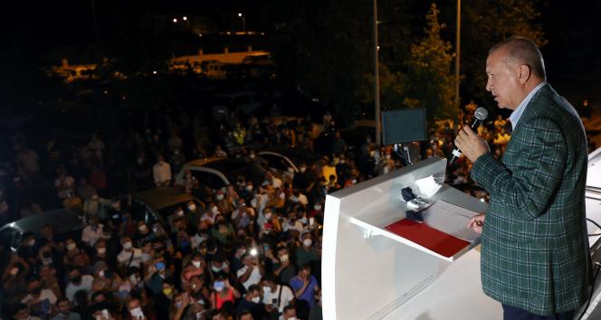 Cumhurbaşkanı Erdoğan: Yangınlarda terör şüphesi, bazı emarelere ulaşıldı