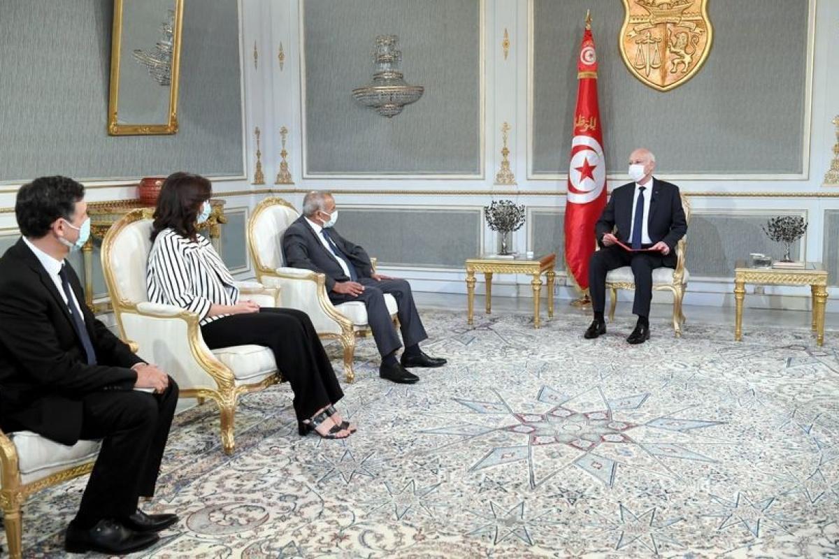 Tunus Cumhurbaşkanı Said: 'Ülkede adaletsizliğe, gasp veya fonlara el konulmasına yer yok'