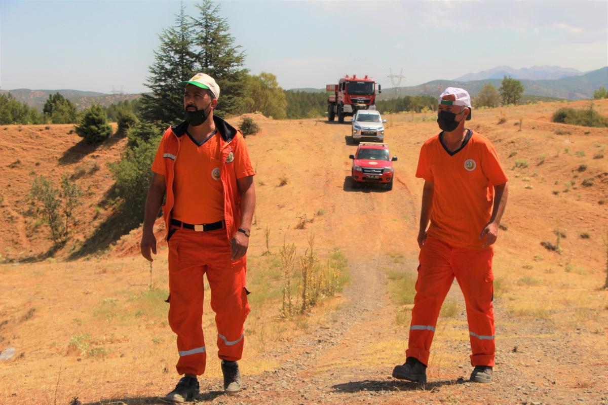 Bingöl'de orman ekipleri olası yangınlara karşı teyakkuz halinde