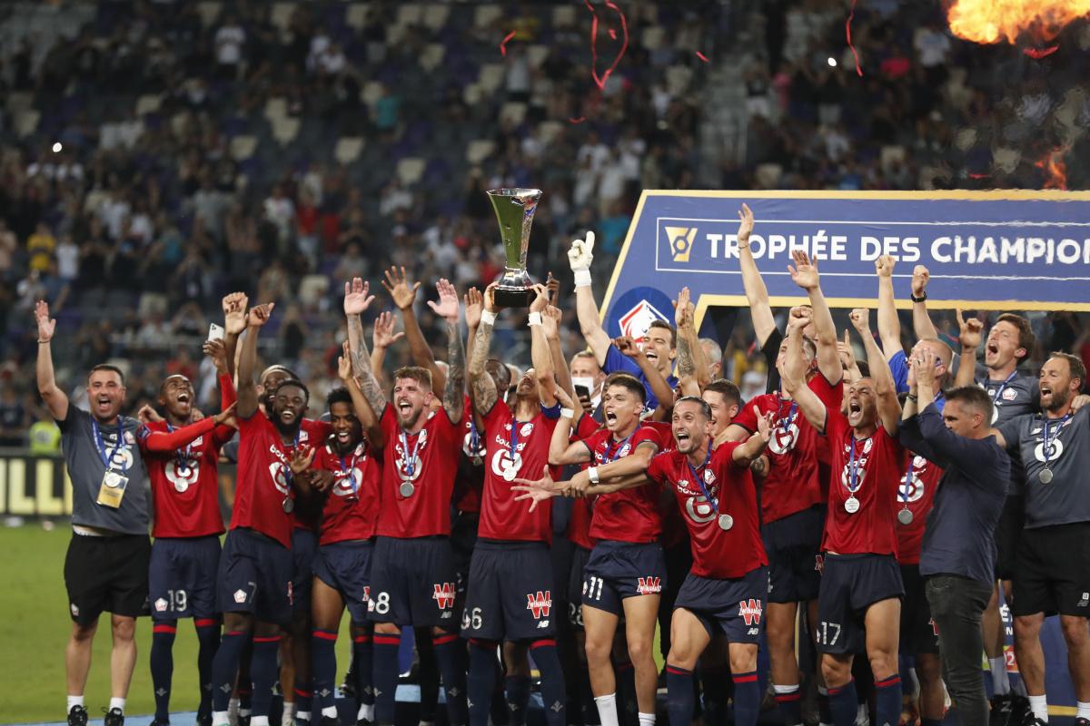 Lille, Fransa Süper Kupası'nın sahibi oldu