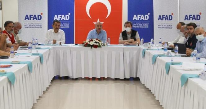 İçişleri Bakanı Süleyman Soylu Marmariste