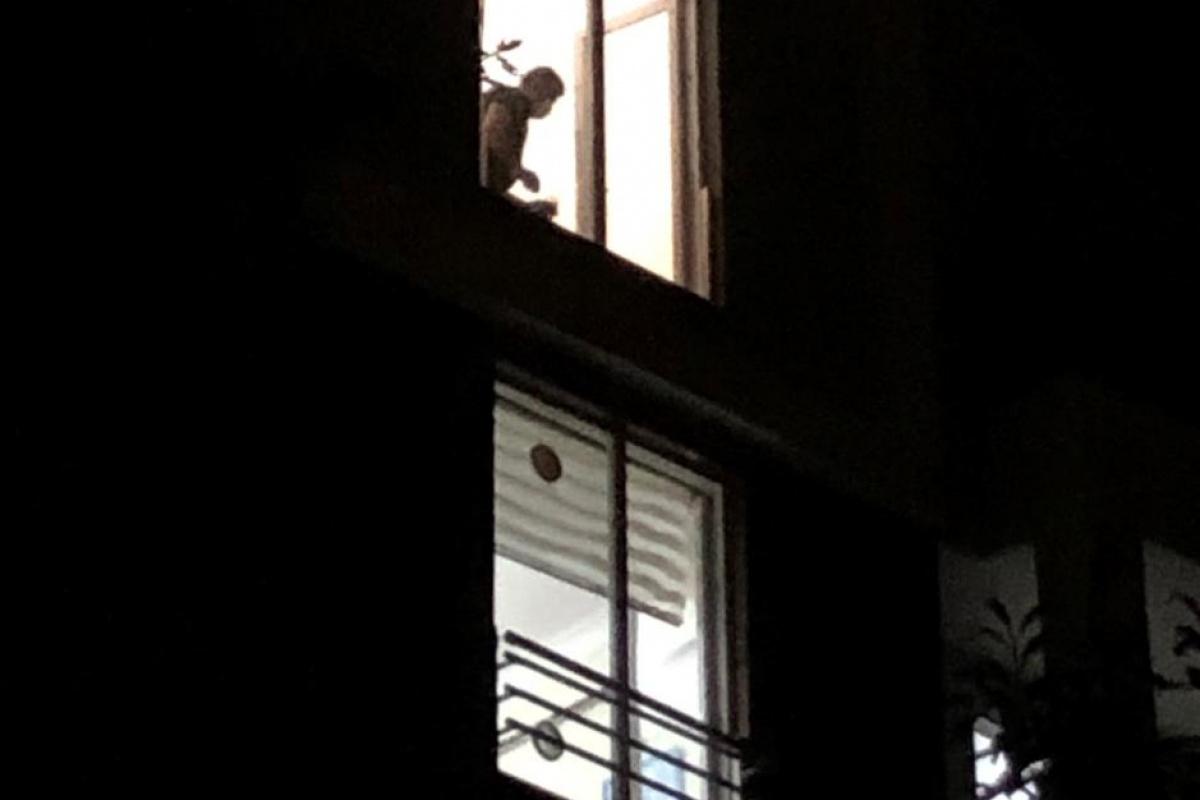 'Fransız balkon' faciası! 4. kattan düşen kadın feci şekilde can verdi