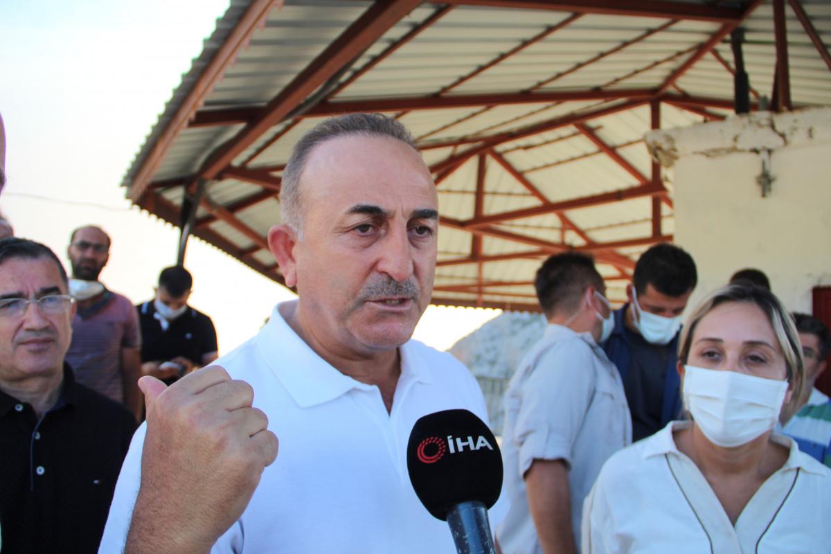 Dışişleri Bakanı Çavuşoğlu: 'Gündoğmuş için yakın bir tehdit yok'