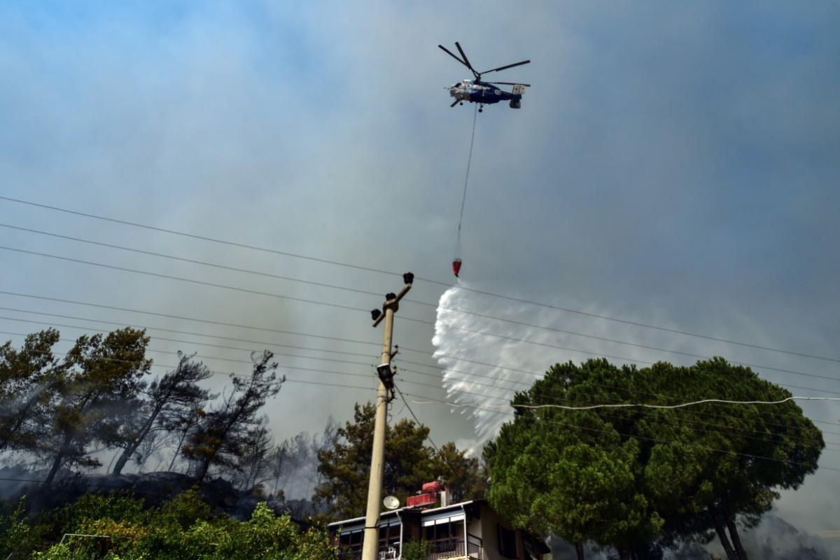 Yurt genelindeki yangınlarla ilgili Jandarma Genel Komutanlığı'ndan açıklama