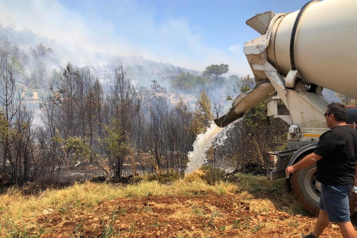 Muğla Seydikemer yangınları kontrol altına alındı