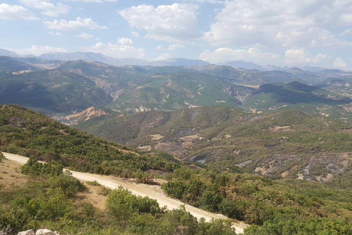 Tunceli'deki orman yangınında soğutma çalışmaları tamamlandı