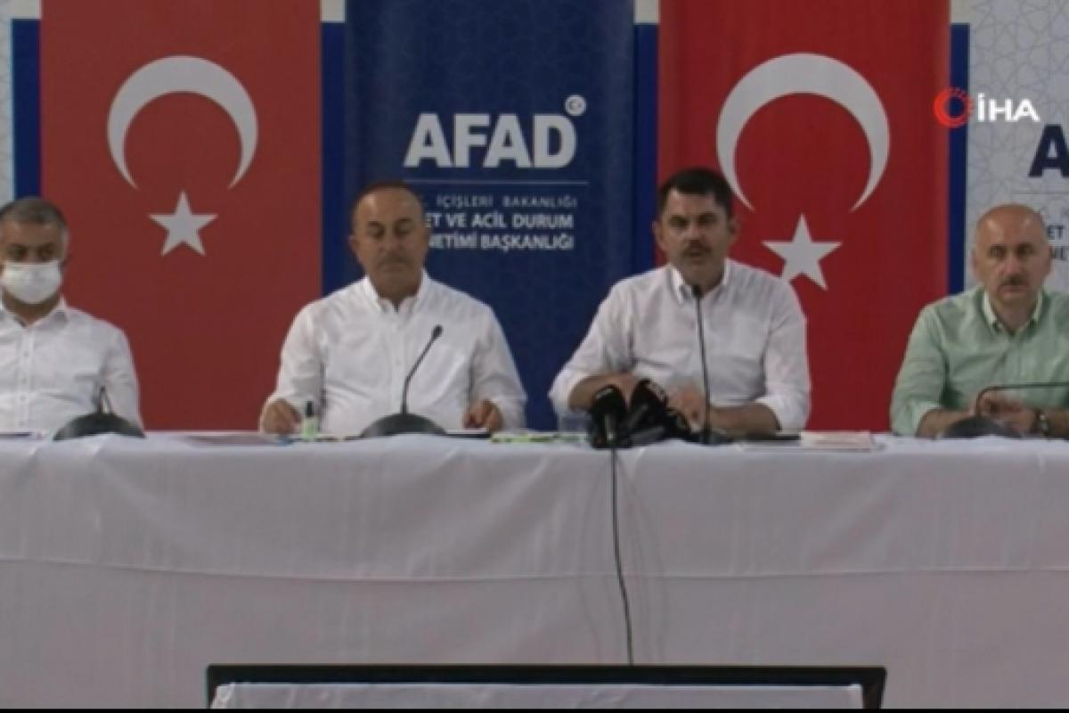 Bakan Kurum: 'Antalya, Muğla, Bodrum, Marmaris orman alanlarını imara açmayacağız'