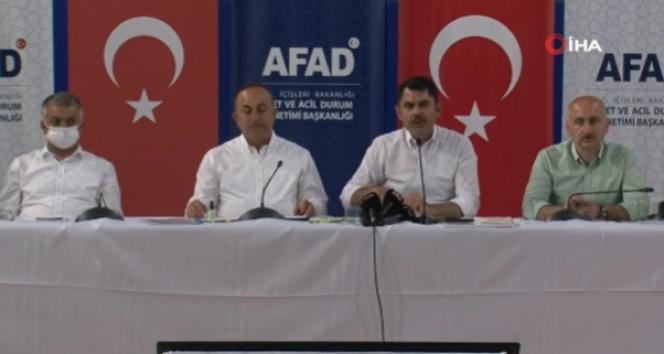 Bakan Kurum: Antalya, Muğla, Bodrum, Marmaris orman alanlarını imara açmayacağız