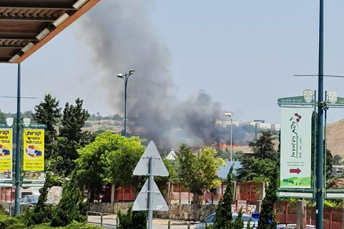Lübnan'dan İsrail'e füze saldırısı
