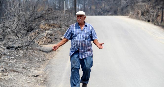 Yangında 4 evi yandı, 54 yıllık emeği 2 saatte gitti