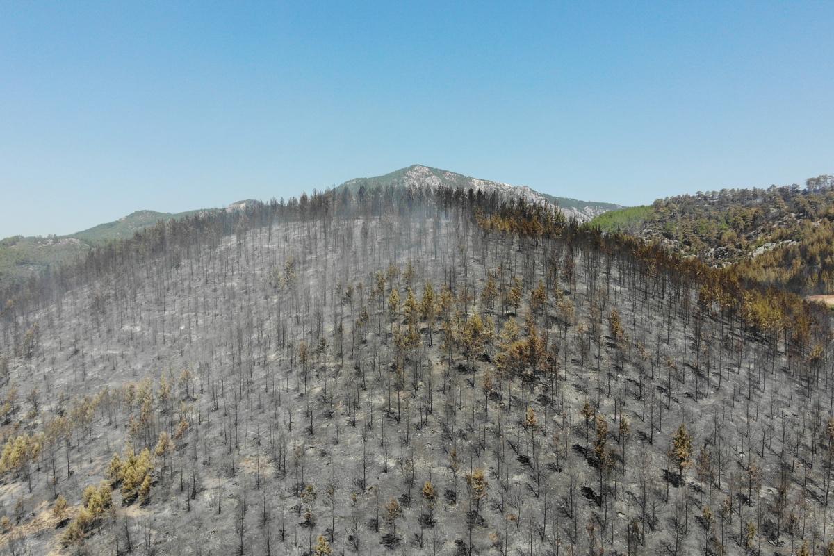 Isparta'da orman, milli park ve mesire alanlarına giriş yasağı uzatıldı