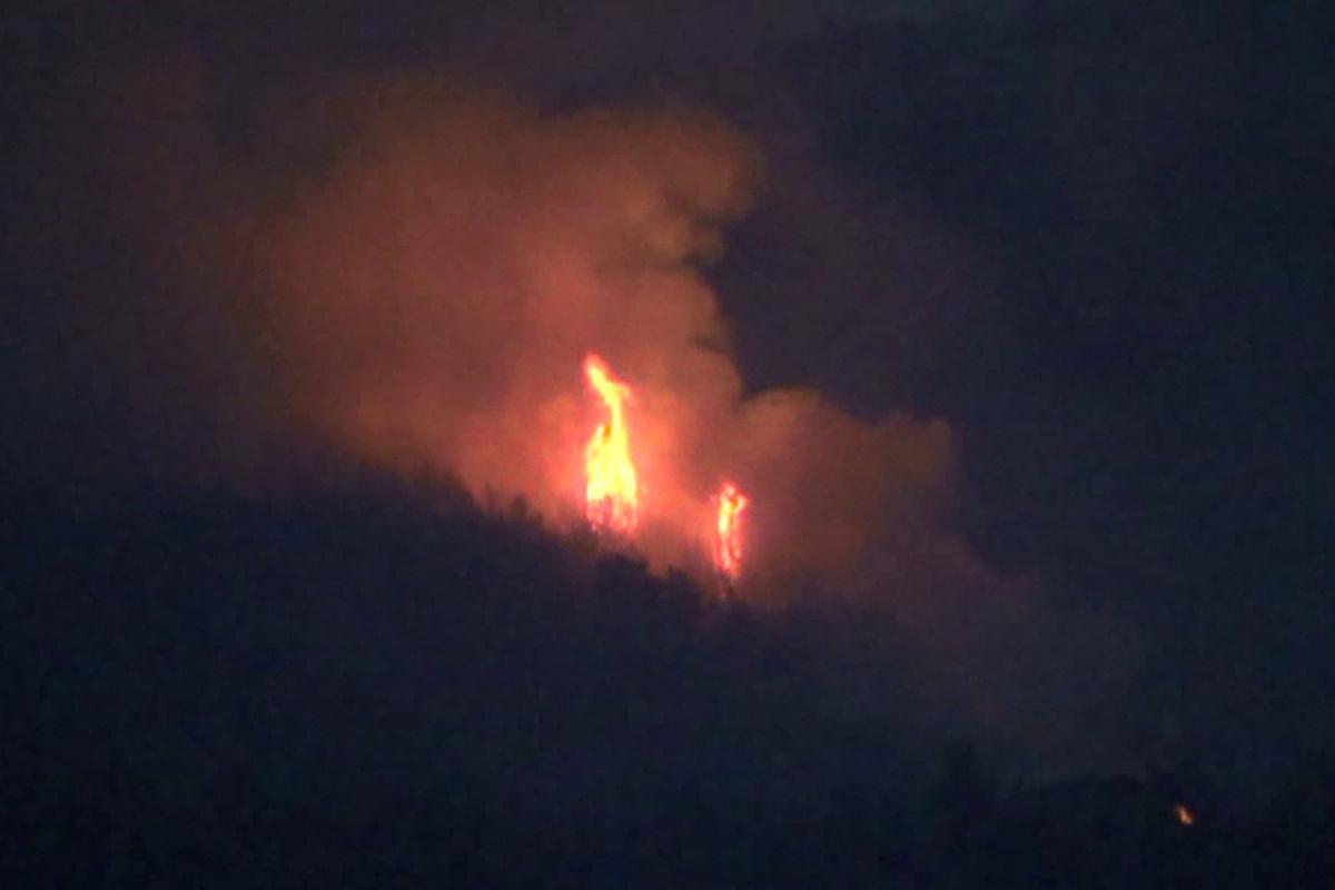 Hatay'daki orman yangını büyük oranda kontrol altında