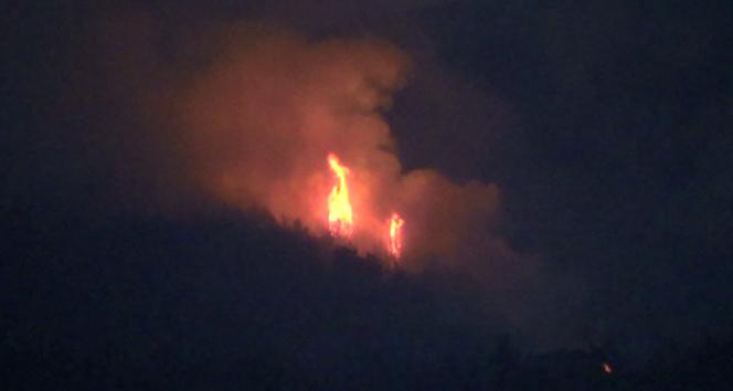 Hataydaki orman yangını büyük oranda kontrol altında