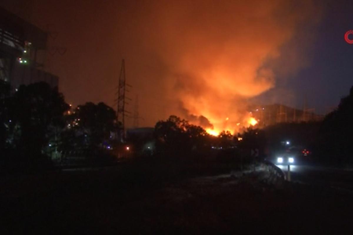 İletişim Başkanı Altun'dan yangında etkilenen Kemerköy termik santrali hakkında açıklama