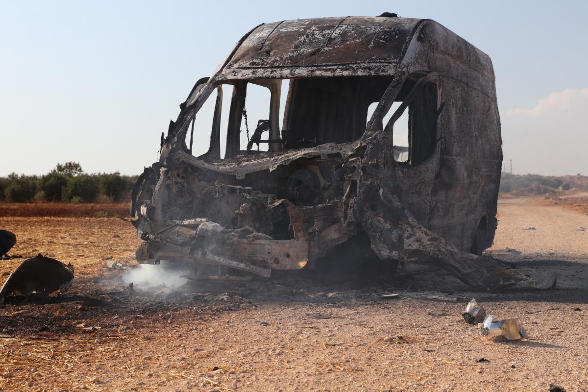 Suriye Sivil Savunması, terör örgütü PKK'nın saldırı görüntülerini yayınladı
